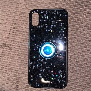 Black Star Print IPhone X Case